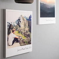 Personalised Giant Polaroid Canvas Print