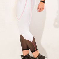 Pinkish Lines Legging