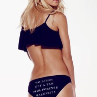 VACATION BOTTOMS at Wildfox Couture in  - CLEAN BLACK