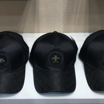 Hot Sale Gucci Fashion Baseball Hunting Cap Hat 3 Styles