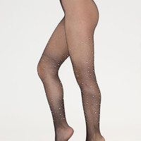 Sparkle Factor Jeweled Fishnet Stockings GoJane.com