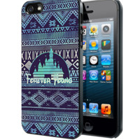 Forever Young Disney Aztec Pattern Samsung Galaxy S3 S4 S5 Note 3 , iPhone 4 5 5c 6 Plus , iPod 4 5 case, HtC One M7 M8