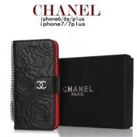 CHANEL:print phone shell phone case for Iphone 6/6S/6P/6SP/7P/7