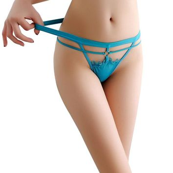 New Arrival Women Ladies Lace Hollow Out G-string Thongs Soft Panties Knickers Briefs Cozy Lingerie Underwear