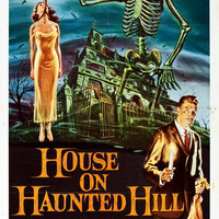 House On Haunted Hill Vincent Price Movie Poster