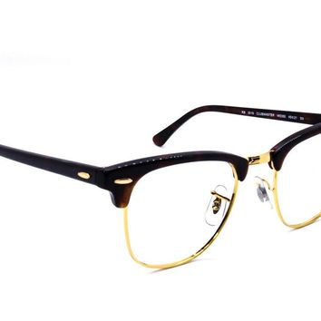 Ray Ban Sunglasses FRAME ONLY Clubmaster RB 3016 W0366 Tortoise Gold 49[]21 135