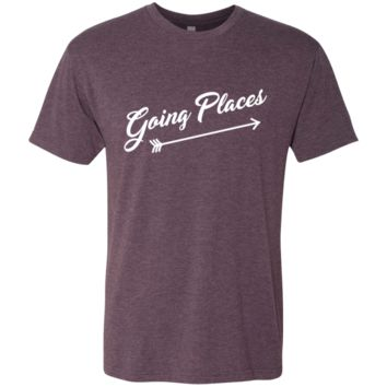 Going Places Men's Travel Adventure T-Shirt