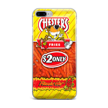 FLAMIN HOT FRIES CUSTOM IPHONE CASE