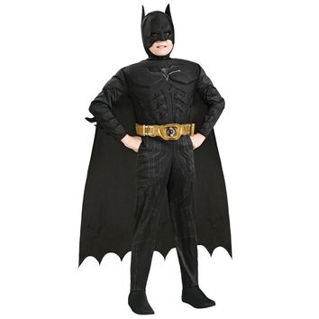 New Arrival Kids Deluxe Muscle Child Halloween Party Fancy Dress Boys Superhero Carnival Cosplay Costume