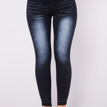 Watch Out For This Jeans - Dark Wash