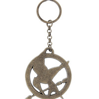 The World Of The Hunger Games Mockingjay Key Chain