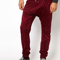 Solid Drop Crotch Joggers at asos.com