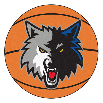 Minnesota Timberwolves NBA Basketball Mat (29 diameter)