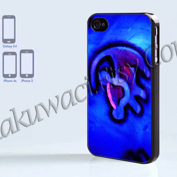 Hakuna Matata - iPhone 4 case - iPhone 4S case - Samsung Galaxy S3/S4 - iPhone case - Hard Plastic - Case Soft Rubber Case