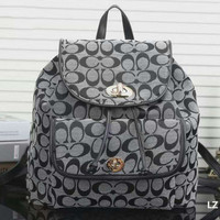 GUCCI  Woman  fashion backpack has a large backpack Grey