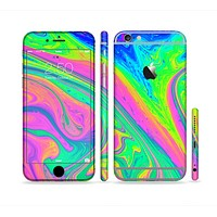 The Neon Color Fushion V3 Sectioned Skin Series for the Apple iPhone6s Plus