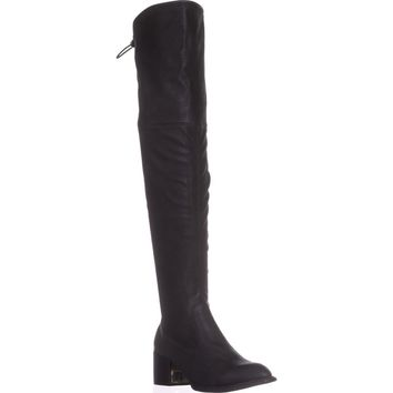 BCBGeneration Sawyar Over The Knee Slouch Boots, Black, 6.5 US