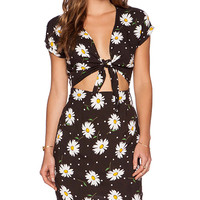Wilde Heart Daisy May Vintage Dress in Black