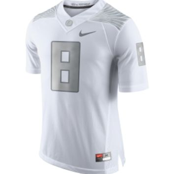 Nike Men's Oregon Ducks #8 Platinum Limited Football Jersey | DICK'S Sporting Goods