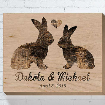Personalized Wedding Gift, Wedding Wood Sign, Wedding Gifts For Couple, Bridal Shower Gift, Engagement Gift, Anniversary Gift, Housewarming
