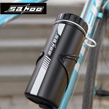 SAHOO Cycling Tools Capsule Apply Bottle Cage Storage Boxes Outdoor Can Keys Repair Tools Kit Bike Tools Container ONLY BOTTLE