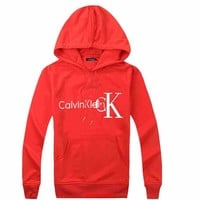 CK Calvin Klein Woman Men Hooded Top Sweater Hoodie Sweatshirt