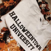 Halloweentown university long sleeve