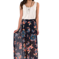 a beautiful day maxi skirt