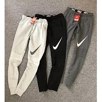 """NIKE"" Popular Women Men Casual Print Sport Stretch Pants Trousers Sweatpants I13254-1"
