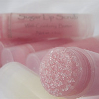 Sugar Lip Scrub Cranberry butter and sugar by plumvalleynotions