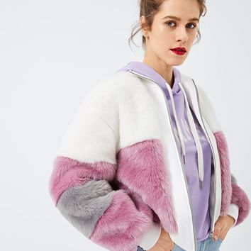 Polly Faux Fur Teddy Coat