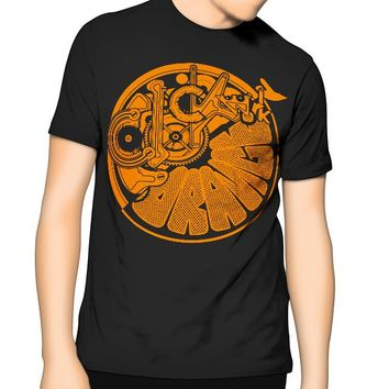 ClockWork Orange T Shirt -Orange - Kids - Mens 6XL