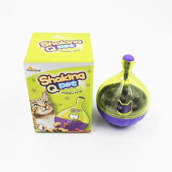 High Quality Cat Toys Pet Toys Tumbler Leakage Food Toy Drain Tableware for Cat Cat Supplies Pet Products