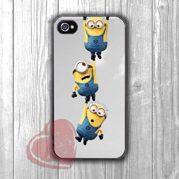 Minions funny-5ho for iPhone 6S case, iPhone 5s case, iPhone 6 case, iPhone 4S, Samsung S6 Edge