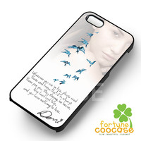 Demi Lovato Encouraging Quotes -swdh for iPhone 6S case, iPhone 5s case, iPhone 6 case, iPhone 4S, Samsung S6 Edge