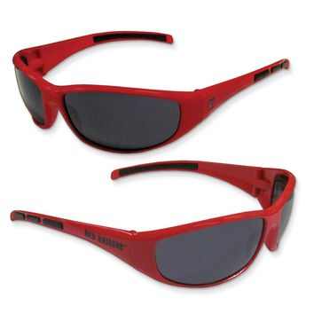 Collegiate Texas Tech Wrap Sunglasses
