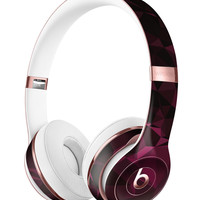 Pink Geometric V11 Full-Body Skin Kit for the Beats by Dre Solo 3 Wireless Headphones