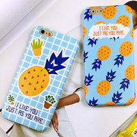 Pineapple iPhone 6 6s iPhone 6 6s Plus Case Originality Cover + Gift Box 415