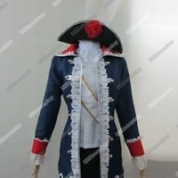 Axis Powers Hetalia Prussia  Cosplay Costume Custom Any Size
