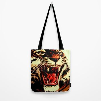 King Of Bengal Tote Bag by Inspired Images