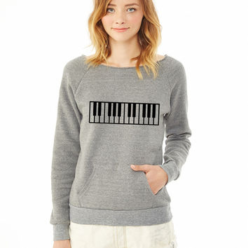 Piano 5 ladies sweatshirt