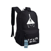 New Gravity Falls Backpack Anime oxford Schoolbags Fashion Unisex Travel Bag