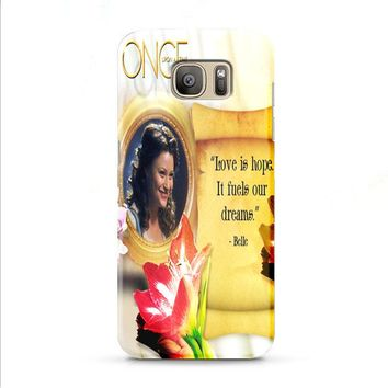 BELLE ONCE UPON A TIME Samsung Galaxy J7 2015 | J7 2016 | J7 2017 case