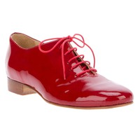 Labour Of Love Red Patent Leather Tap Shoe