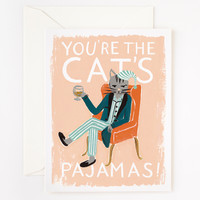 Rifle Paper Co. - You're The Cat's Pajamas Card