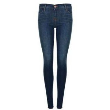 J BRAND Stacked Super Skinny Mid Rise Jeans - Flannels