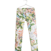 FLORAL TROUSERS - Trousers - Girl - Kids - ZARA United States
