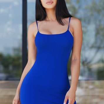 Alice Dress - Royal Blue