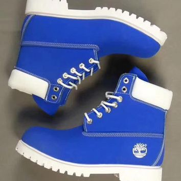 Timberland Rhubarb boots for men and women shoes waterproof Martin boots lovers Pure w