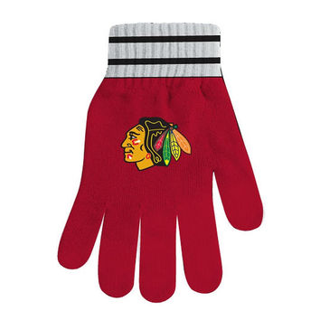 NHL Chicago Blackhawks Gloves [One Size]